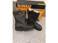 Dewalt steel toe rigger boots (BNIB)