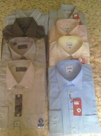 Men's shirts unused