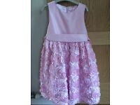 Pink party dress - age 6