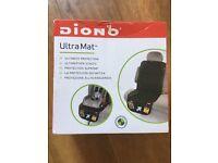 Diono Ultra Mat car seat cover in black