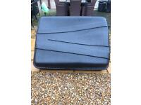 Roof box fit any car Large
