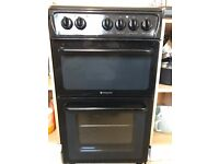 Hotpoint Cooker - Black - Perfect Condition - 4 months old