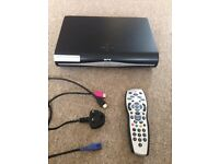 Sky Plus HD Box (with controller and all leads)