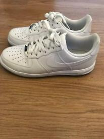 Nike Air Force 1 Lunar trainers uk 7.5