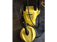 As new Karcher k2 jet washer & patio scrubber