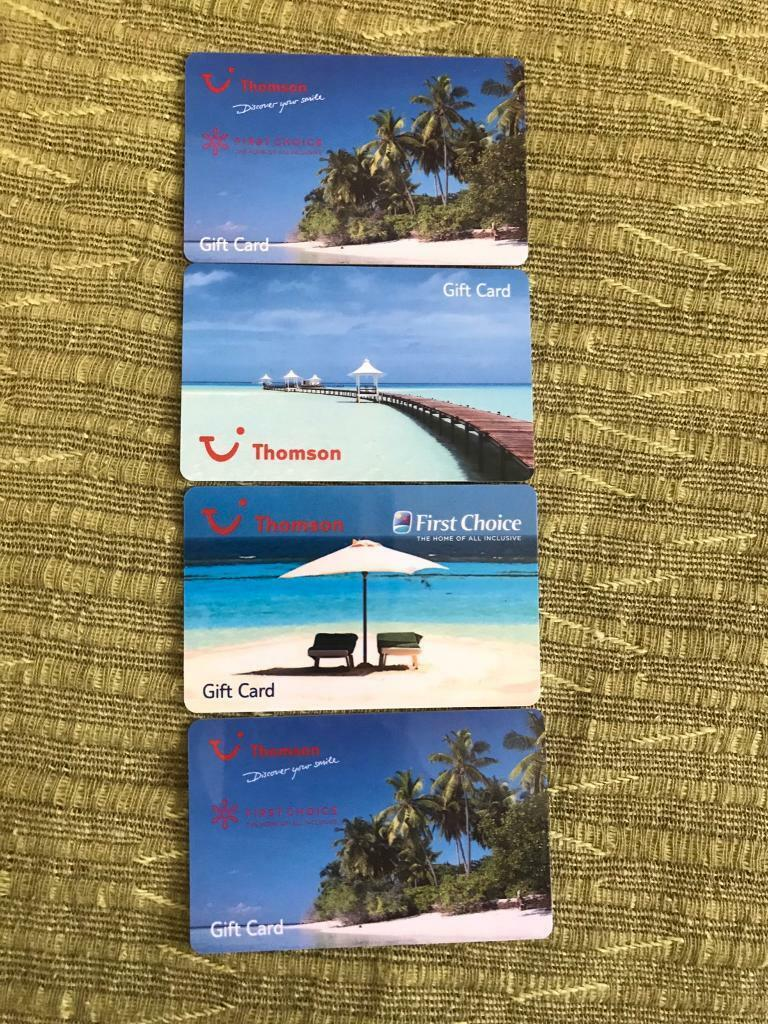 Thomson Travel Vouchersin Salford, ManchesterGumtree - I have £290 worth Thomson Vouchers I got as a gift but do not intend to use it. Selling for £275