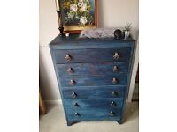 ANTIQUE DRAWERS SHABBY CHIC