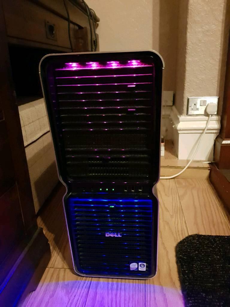 Dell Xps 720 Tower Intel Core 2 Quad Q6600 Cpu 4 Gb Ram In Processor