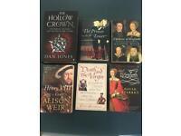 History books job lot