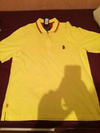 MINT CONDITION MENS LUKE POLO WITH TAG