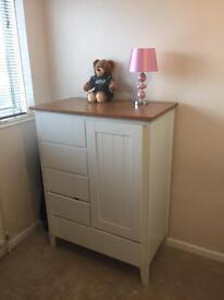 Nursery wardrobe set