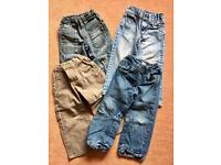 Bundle of jeans (age 3-4)