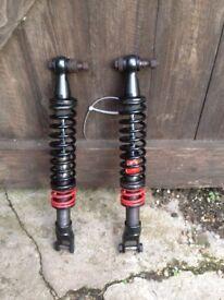 Bitubo Rear Shock Absorbers Piaggio X9 250 00 - 03 (Honda Engine)