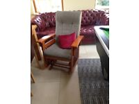 Rocking chair for sale. Good quality rocking chair.