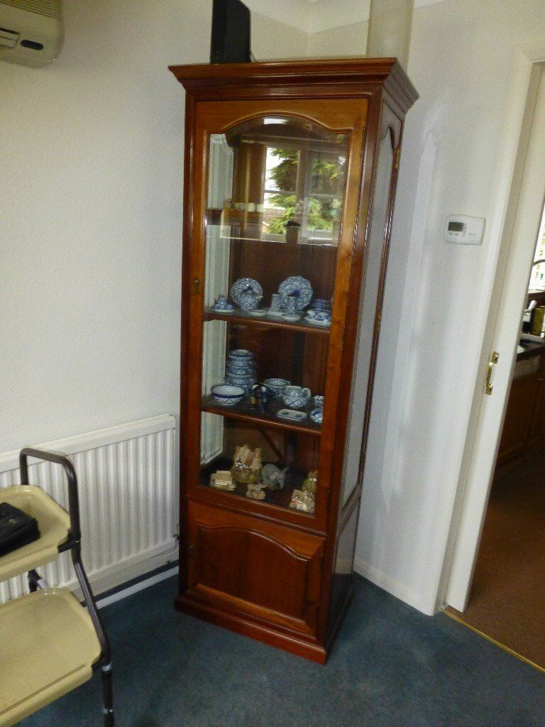 Single rosewood display unit mint condition