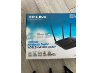 TP-Link 300mbps Wireless N Gigabit Modem Router