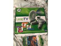 Leap tv educational gaming system