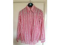 Size S- M 60s style men's shirt.