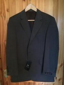 Brand new grey Chester suit jacket 38S