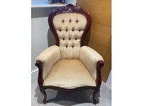 Armchair chair antique vintage