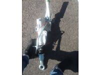 Brand new trailer a frame hitch