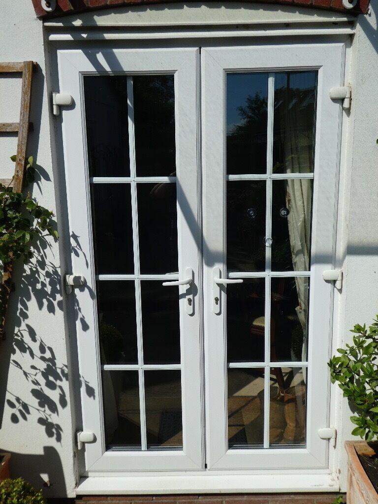 Pair Of White Upvc Patio Doors For Sale In Hemyock Devon Gumtree
