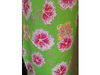 Floral fabric cotton