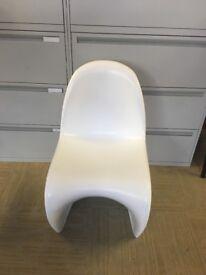 Panton style designer chairs