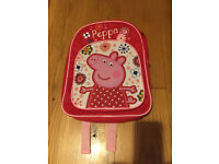 Children's Peepa Pig Back pack (3+)