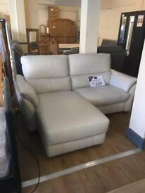 Sofa 2 seater electric chase lounge reclining