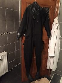 Quality Dry Suit - hardly used, as new