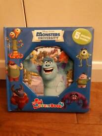 Monsters ink puzzle book