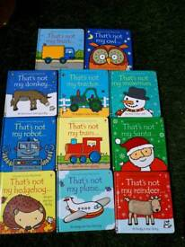'That's not my' book collection
