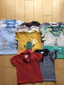 Boys 9-12months T-Shirt bundle