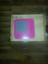 ikea pink bathroom bedroom mirror