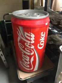 Retro 80's style coke can audio system