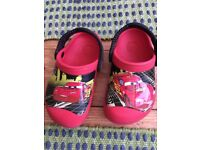 Kids' Crocs and Clarks shoes 8-9