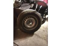 Spear wheel of sprinter 235/65/16