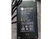MOTOCADDY Class 2 Battery Charger