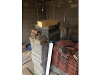 Blocks 4 & 9 inch plus Roof Tiles