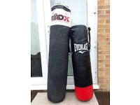 Boxing and kickboxing bags