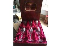 Doulton Crystal Wine Glasses