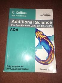 Additional science text book