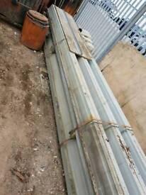 Industrial roof decking