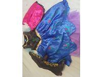 Disney Frozen Anna dress and boots