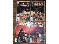 Star Wars A New Hope 1-4 Dark Horse Comics