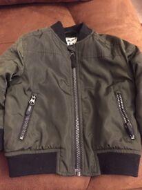 Boys bomber jacket 12-18 months