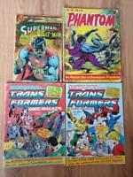 Comic; Superman; Phantom; Transformers Schleswig-Holstein - Elmshorn Vorschau