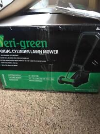 Push lawn mower..