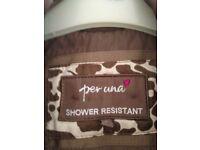 Lovely padded shower proof coat